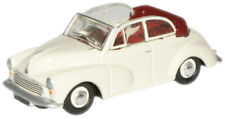 Oxford Diecast Morris Minor Convertible White/Red Die Cast Model 1:76 00 Scale