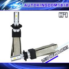 Fanless 3000K 4300K 6500K 3Color H7 CSP LED Headlight High Beam Yellow White