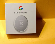 New Latest Model (2020) Google Nest Thermostat - White,  Model G4CVZ