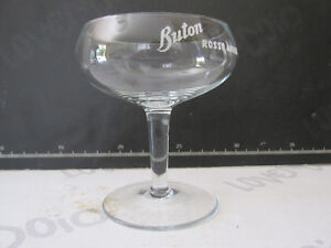 Glasses Cups Buton Red Antique Years 60 - Modern Antiques Vintage