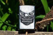 Zippo Lighter - Harley Davidson - Iron Eagle - Bar and Shield - Model # 20230