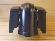 """4""""STRETCHED BAGS,LIDS AND OVERLAY REAR FENDER FOR FL HARLEY DAVIDSON SOFTAILS"""