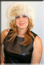 New Blush Fox Fur Headband 26 Inches Long and 5 Inches Wide - Efurs4less