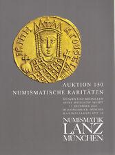 LANZ AUKTION 150 Katalog Numismatische Raritäten 13. Dez. 2010  u.a. Neuzeit ~