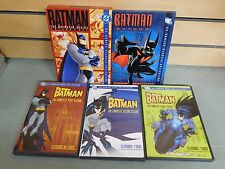 The BATMAN Series 1 - 2 - 3 Animated Vol. 1 Beyond S.1 on DVD (DH460)