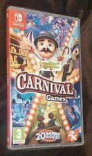Carnival Games Nintendo SWITCH NEW SEALED Free UK p&p UK STOCK