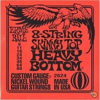 Ernie Ball 2624 8-String Skinny Top Heavy Bottom Electric Guitar Strings 9-80