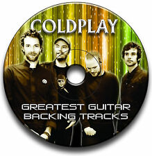 COLDPLAY STYLE ROCK GUITAR BACKING TRACKS COLLECTION CD JAM TRACKS