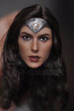 "1/6 Head Sculpt Wonder Woman Gal Gadot Customized for 12"" Hottoys Phicen Female"
