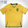 Brazil National Team Nike 2008/10 Home Football Jersey, Men's Size Large