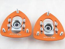 Camber Plates BMW E30, E34 28  Uniball verstellbare einstellbare Domlager orange
