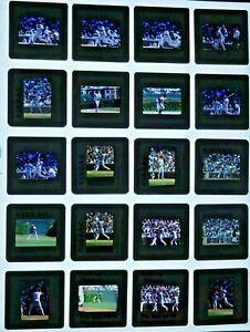 JTM6-9 1984 Baseball Chicago Cubs Rick Sutcliffe Gooden (100pc) ORIG 35mm Slides