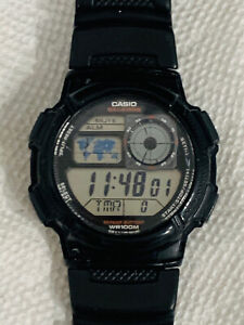 Casio AE1000W, World TIme Watch, Chronograph, 5 Alarms, 10 Year Battery