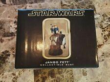 Jango Fett Mandalorian Collectible Bust /2500 STAR WARS Gentle Giant MIB