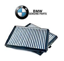 For BMW E39 525i 528i 530i 540i Cabin Air Filter Set Activated Charcoal Genuine
