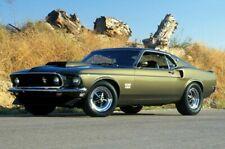 1969 Boss Mustang Poster - POSTER 24x36