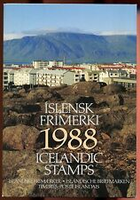 ICELAND 1988 YEAR PACK with Stamps MNH COMPLETE