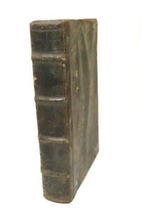 Antike MARTIN LUTHER Bibel Heilige Schrift 1724