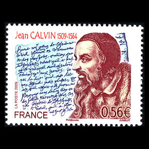 France 2009 - 500th Anniversary of the Birth of John Calvin - Sc 3681 MNH