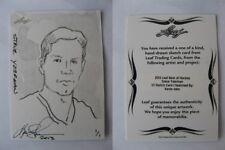 2012-13 Leaf Best of Hockey Steve Yzerman 1/1 sketch 1 of 1 RARE Red Wings #3
