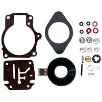 Carburetor Carb Rebuild Repair Kit w Float Johnson Evinrude 18/20/25/28/30/40 HP