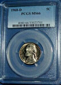 1968-D 5C Jefferson Nickel-PCGS MS66--207-2i