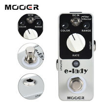 Mooer E-Lady Flanger Guitar Effect Pedal Classic Analog Flanger Normal / Filter