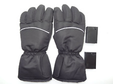 Winter Warm Rechargeable Electric Battery Heated Gloves for Motorcycle Outdoor