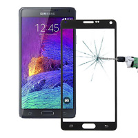 Samsung Galaxy Note 4 Full Glass Screen Protector Hard Tempered to Edge Black