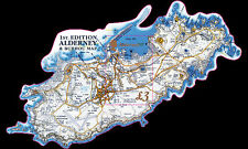 Alderney  2017 Burhou Map  landkaart   blok-m/s postfris/mnh