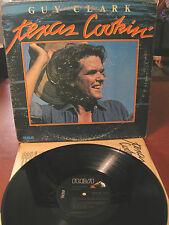 GUY CLARK texas cookin- LP-original made USA 1976 - Progressive/outlaw country