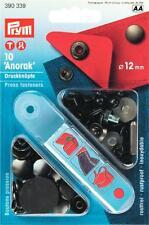Anorak - Druckknöpfe 12 mm dunkel grau brüniert mit Werkzeug von Prym 390339