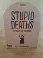 💀 STUPID DEATHS 💀BOARD GAME 💀 NEW IN ORIGINAL WRAPPING 💀