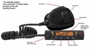 Crystal DB477E UHF 80 Channel CB 2 Way Radio Compact 12V 5 Watt Transmitter