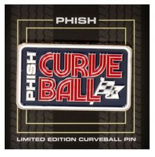 Official Phish Curveball Pin 2018 New Not Poster Sold Out