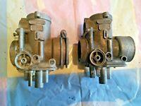 Dellorto PHF 30 AD & PHF 30 AS carburetor body 150-500 cc 2 or 4 stroke, pair