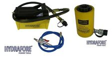 Compressed Air Driven Pump With Single Acting Hollow Ram Cylinder 20tons 2