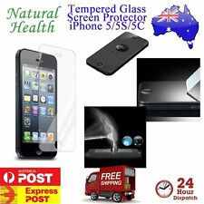 Scratch Resist Tempered Glass 9H 2.5D Screen Protector for Apple iPhone 5 5S 5C