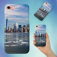 CITY SKYLINE NEW YORK SKYSCRAPERS HARD BACK CASE FOR APPLE IPHONE PHONE
