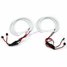 131mm White LED Light Ring Accessory Cotton SMD Angel Eyes Bulb For BMW E36 E46