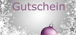 SPARPREIS 100x Geschenkgutscheine Weihnachtsmotiv  Gutscheinkarte Wheinachten