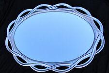 Large Wall Mirror Silver Oval Bathroom Hallway Mirror 120 x 90 Mirror 020G