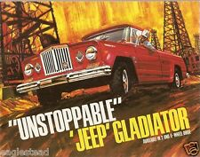 Truck Brochure - Kaiser - Jeep - Gladiator - Unstoppable - 1965 (T1138)