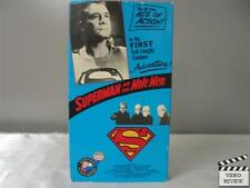 Superman and the Mole Men VHS George Reeves
