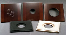 "1 Lens Board 132mm x 132mm for Ansco 4x5"", or 5x7"" Camera- Solid Maple/undrilled"