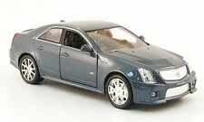 CADILLAC CTS-V METAL GREY 2009 LUXURY DIE CAST USA CAR 1:43 VEHICULE MINIATURE