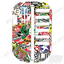 Tamiya Bathtub Chassis TT01 51001 Protector Graphics Thick - Sticker Bomb
