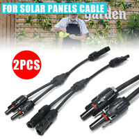 30A Y Branch Solar Panel Cable for MC4 FFM MMF PV Wire Connector T Splitters