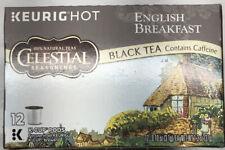 Celestial Seasonings English Breakfast Black Tea Keurig K-Cups 72 Ct. 7/15/21