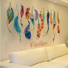 Vintage Lucky Dream Catcher Feather Wall Sticker Decal Mural Home Bedroom Decor